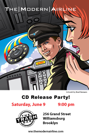 CD Release Party Saturday, June 9 at The Trash Bar!