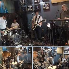 The Modern Airline live on WFMU